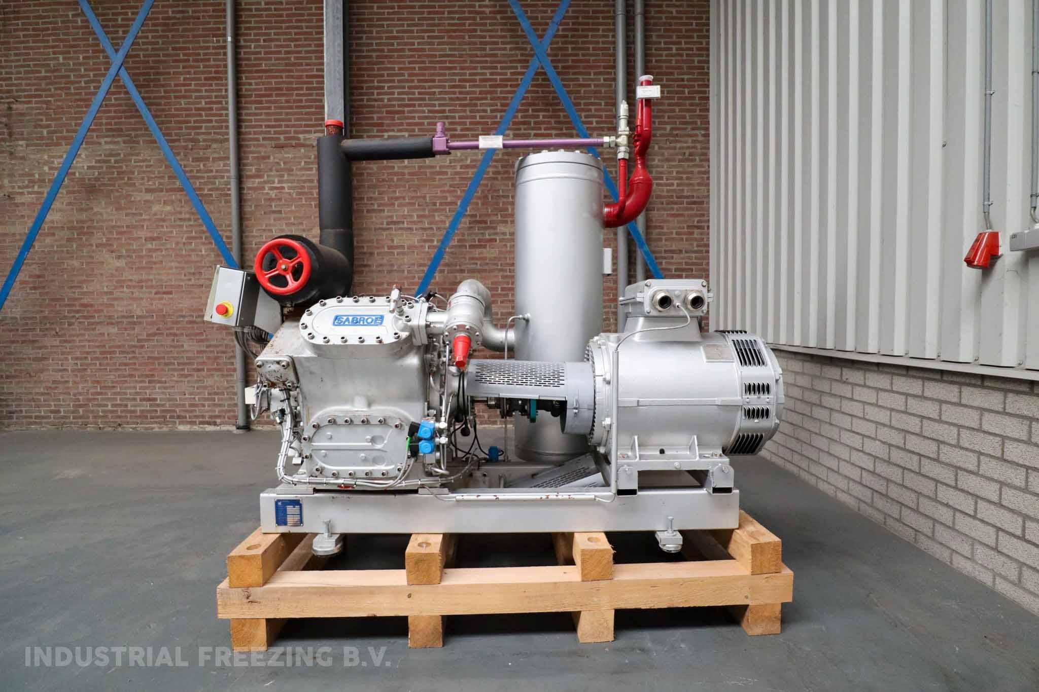 Sabroe HPC 104S Cooling Compressor