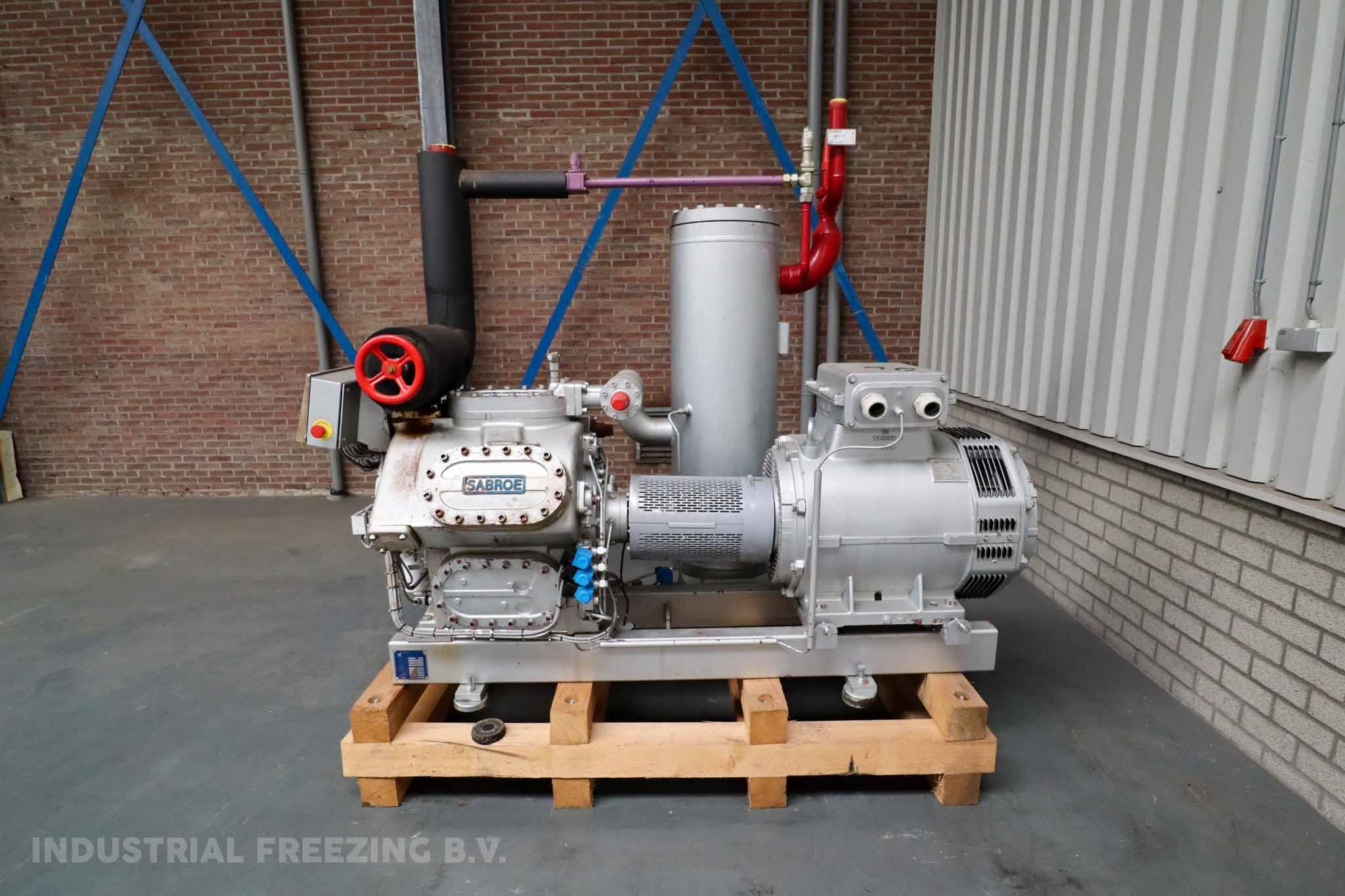 Sabroe HPC 106S Cooling Compressor