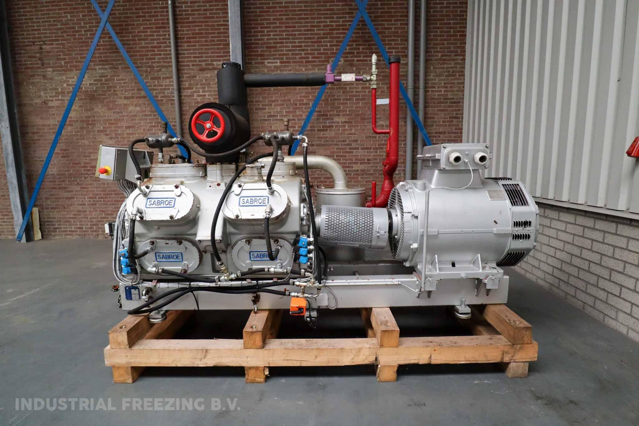 Sabroe SMC 112L Cooling Compressor