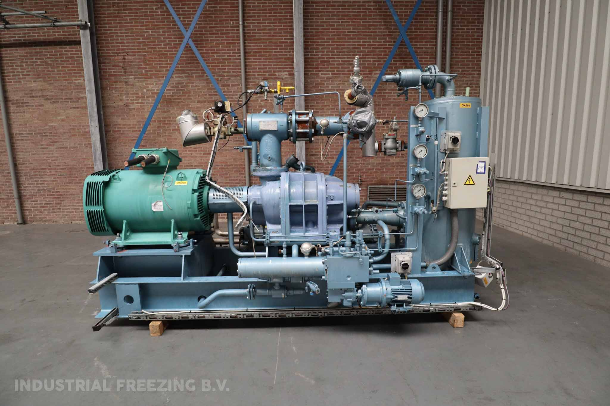 GEA Grasso SR-S48S-28 Cooling Compressor