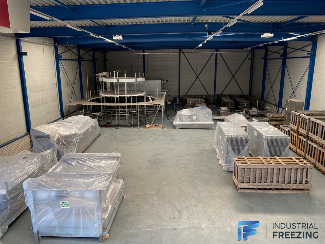 Frigoscandia GCM7 Spiral Freezer to Russia