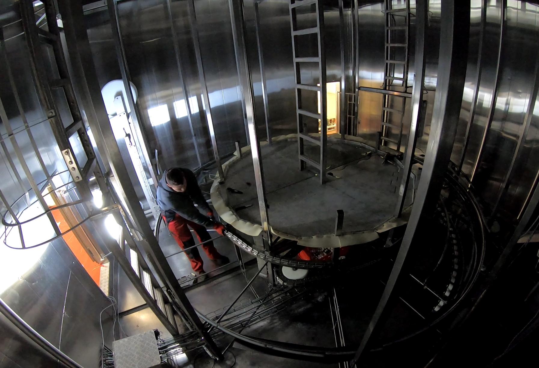 Dismantling Frigoscandia M7 Spiral Freezer in Germany