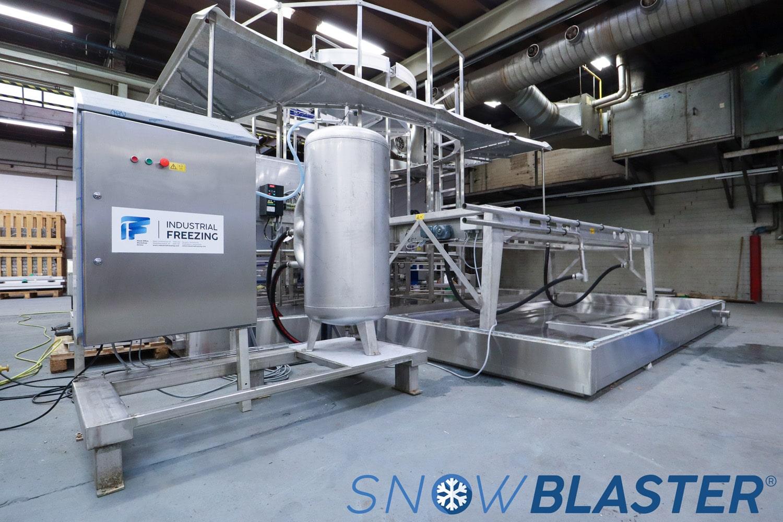 Optimizing Spiral Freezer Efficiency: IF SnowBlaster®