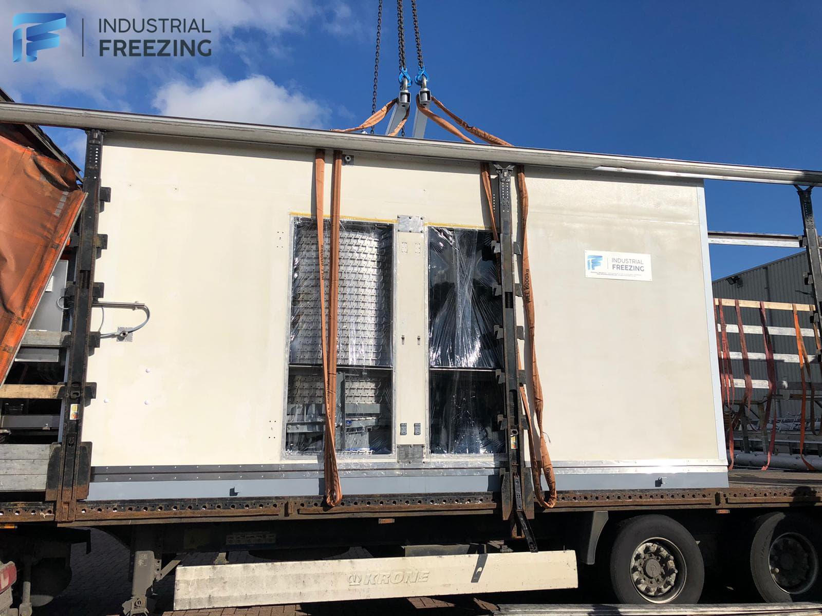 Frigoscandia GC42 Spiral Freezer in Sweden